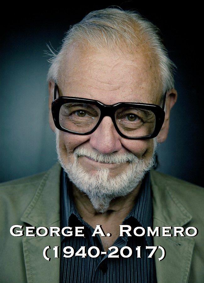 Scomparso George A. Romero, il papà degli zombi