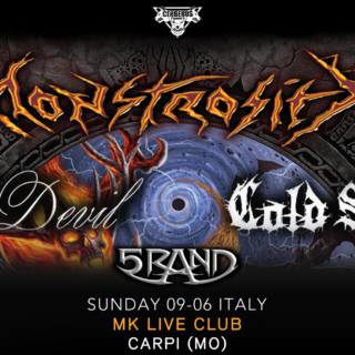 9 giugno concerto Montrosity