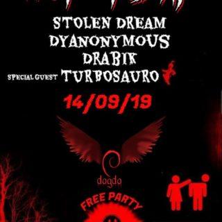 Sabato 14 Settembre #NotToday al DAGDA LIVE CLUB !