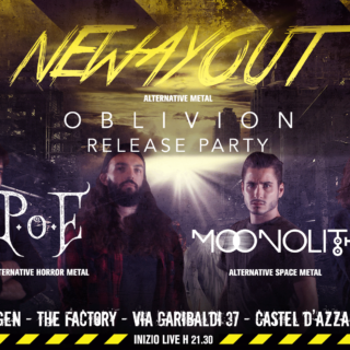Resubmission: Sabato 11 Gennaio il release party dei NEW WAY OUT al THE FACTORY
