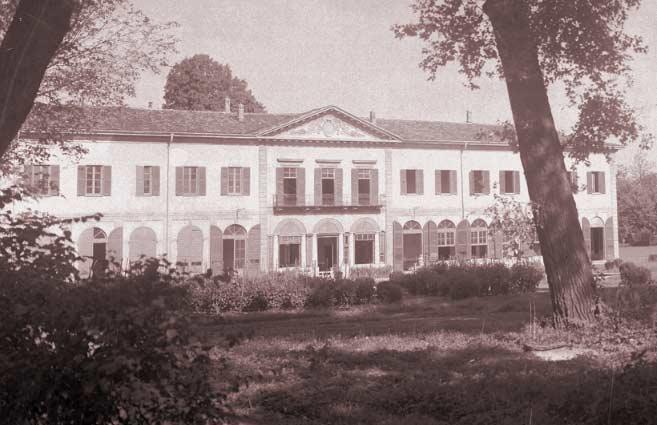 Il Tempio della Notte di Villa Finzi a Gorla