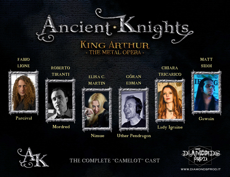 Camelot - Debut album per gli Ancient Knights